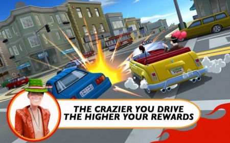 crazy taxi rush