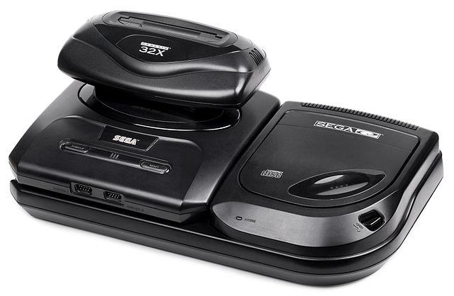 """نسخه ارتقا یاقته Sega Genesis که با نام """"Sega CD"""" شناخته می شد."""