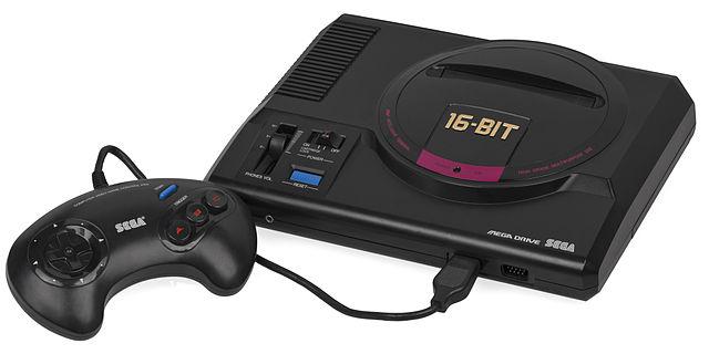 نسخه ژاپنی Genesis که به  Mega Drive معروف بود.