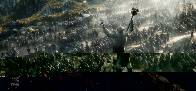 The Hobbit. The Battle of the Five Armies - 01