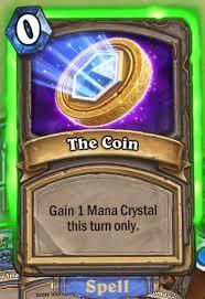 کارت Coin بازی hearthstone
