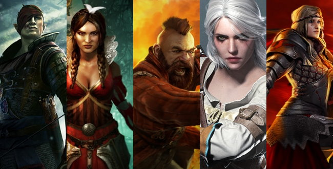 witcher characters