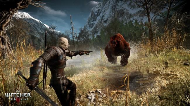 witcher_3_wild_hunt_geralt_shooting_his_crossbow_by_scratcherpen-d7lyn1q